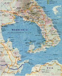 pilion karte griechenland Waldemar Hansen Kameliensuche in Griechenland
